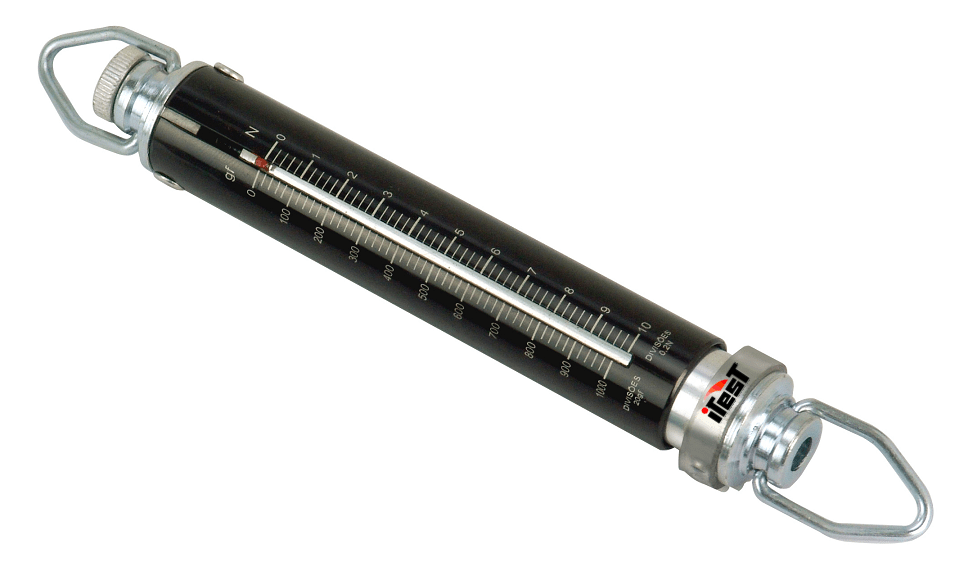 Dinamômetro Tubular Linear 02 kgf/20N - Crown - AT-2 - TRAÇÃO